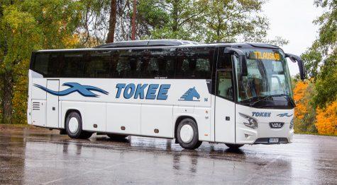Laadukas 38-paikkainen bussi