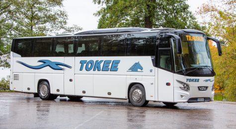 Tokee Liikenne - 50 - 58 paikkainen turistibussi